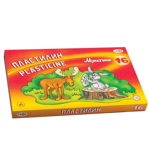 Пластилин классический ГАММА