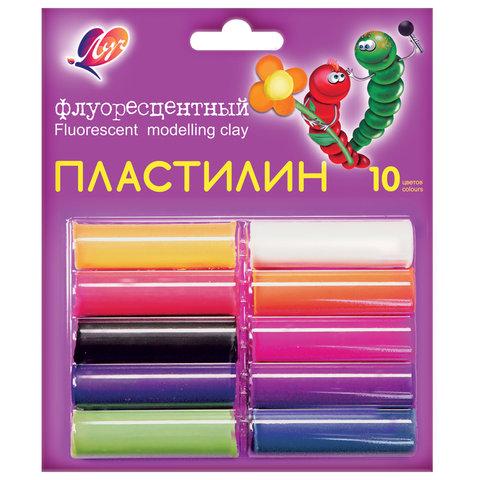 Пластилин флуоресцентный ЛУЧ