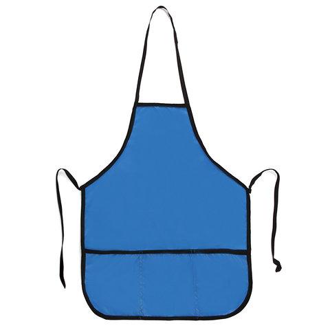 Фартук для труда и творчества ТОП-СПИН, для учеников начальной школы, синий, 44х55 см, 104377