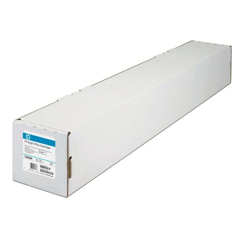 Рулон для плоттера, 914 мм х 45 м х втулка 50,8 мм, 90 г/м2, белизна CIE 168%, Bright White InkJet HP C6036A