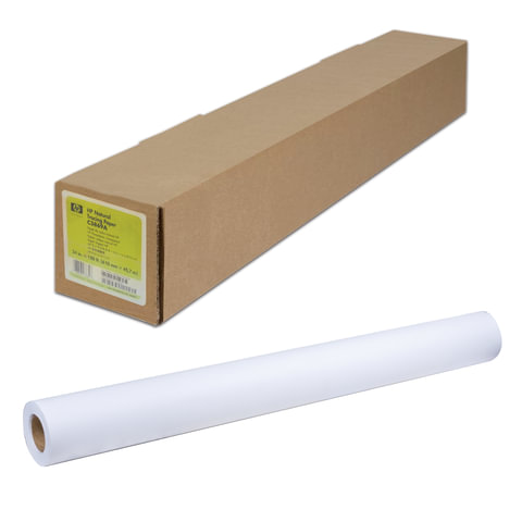 Рулон для плоттера, 841 мм х 91 м х втулка 50,8 мм, 80 г/м2, белизна CIE 160%, Bond HP Q8005A