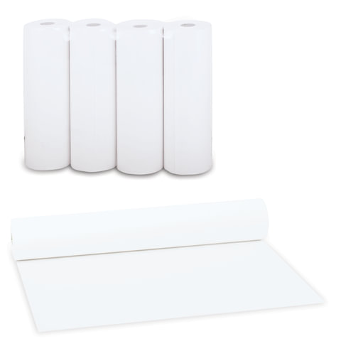 Рулоны для принтера, белизна 80%, 210х64х18, комплект 4 шт., STARLESS, 49285