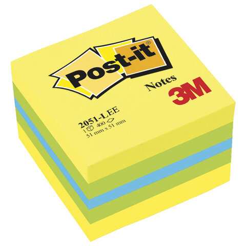 Блок самоклеящийся (стикер) POST-IT ORIGINAL