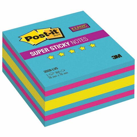 Блок самоклеящ. (стикер) POST-IT SuperSticky