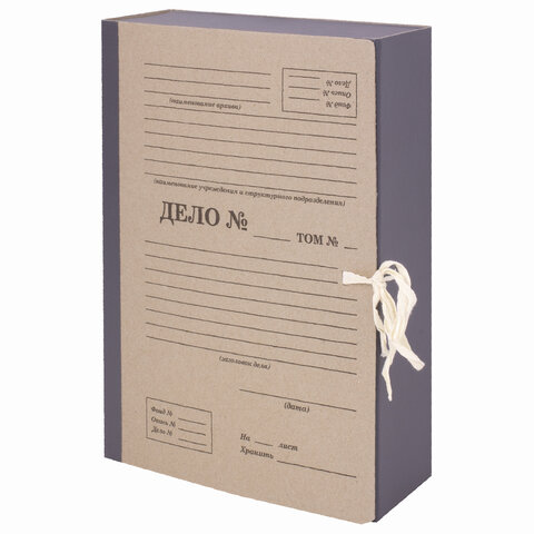 Папка архивная А4