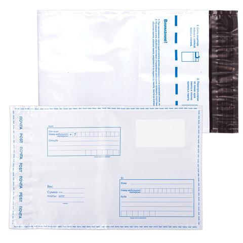 Конверты-пакеты С5 полиэтиленовые, комплект 10 шт., 162х229 мм,