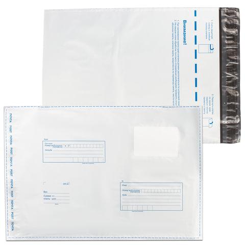 Конверт-пакеты В4 полиэтиленовые (250х353 мм) до 300 листов,