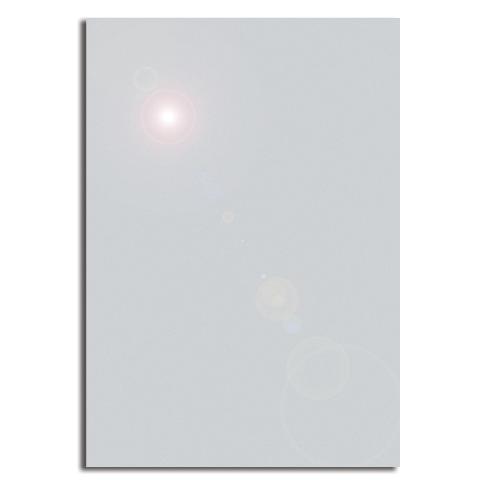 Бумага дизайнерская СЕРЕБРИСТЫЙ МЕТАЛЛИК двусторонняя, А4, 130 г/м2, 20 листов, DECADRY, SMA7071
