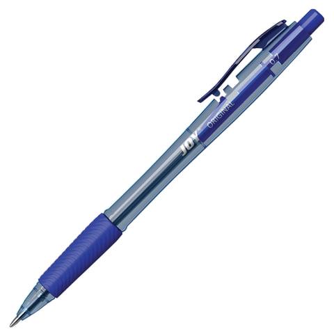 Ручка шариковая масляная автоматическая с грипом ERICH KRAUSE