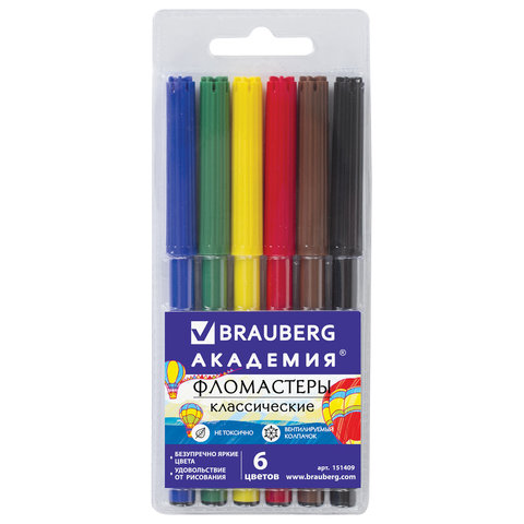 Фломастеры BRAUBERG