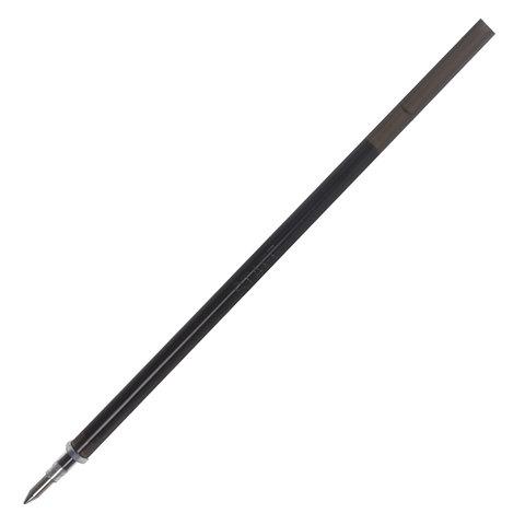 Стержень стираемый гелевый STAFF 130 мм, ЧЕРНЫЙ, узел 0,5 мм, линия письма 0,35 мм, 170358