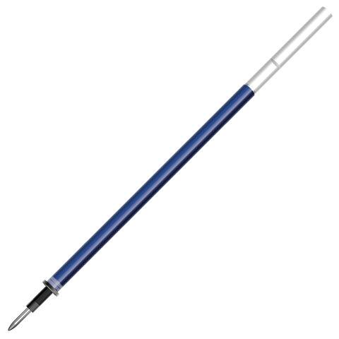 Стержень стираемый гелевый BRAUBERG 130 мм, СИНИЙ, евронаконечник, узел 0,5 мм, линия письма 0,38 мм, 170360