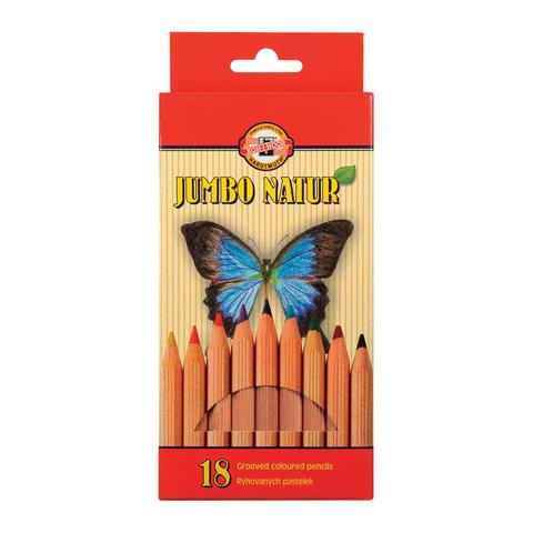Карандаши цветные утолщенные KOH-I-NOOR