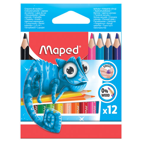 Карандаши цветные MAPED (Франция)