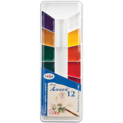 Краски акварельные ГАММА