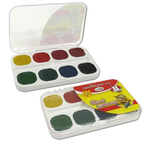 Краски акварельные медовые ГАММА