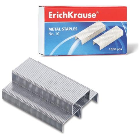 Скобы для степлера 10, 1000 штук, ERICH KRAUSE, до 20 листов, 1188
