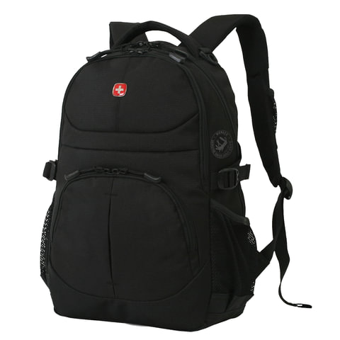 Рюкзак WENGER, универсальный, черный, 22 л, 34х15х47 см, 3001202408