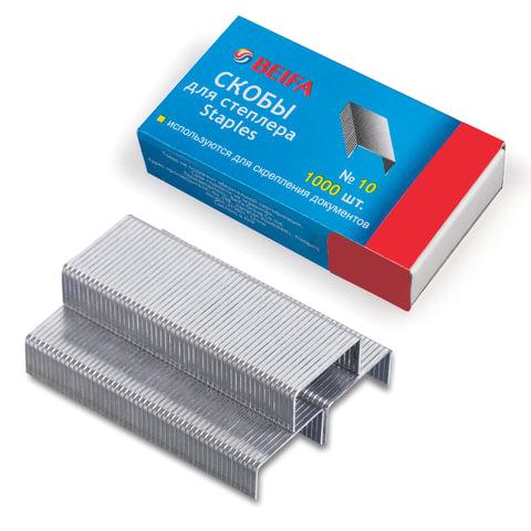 Скобы для степлера 10, 1000 штук, BEIFA (Бэйфа), до 20 листов, S215