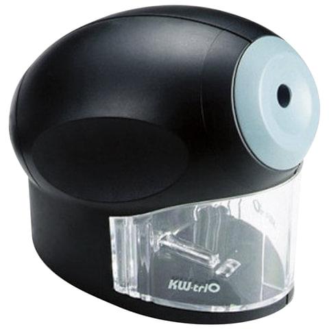 Точилка электрическая KW-trio, питание от сети 220 В, корпус овальный, цвет черный, 30H2, -30H2