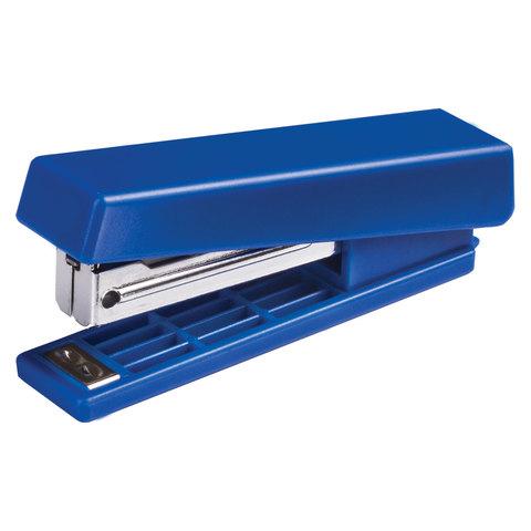 Степлер KW-trio N10, до 12 листов, ассорти (черный, красный, синий, светло-серый), -5280