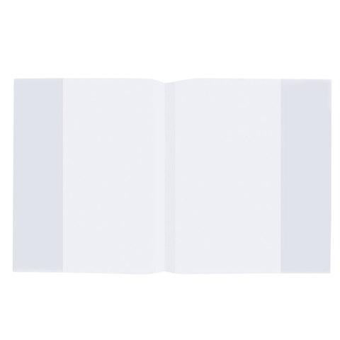 Обложка ПП для тетради и дневника STAFF/ПИФАГОР, прозрачная, 35 мкм, 210х350 мм, 225182