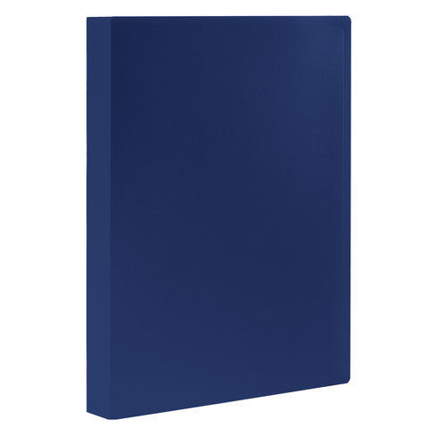 Папка 80 вкладышей STAFF, синяя, 0,7 мм, 225708
