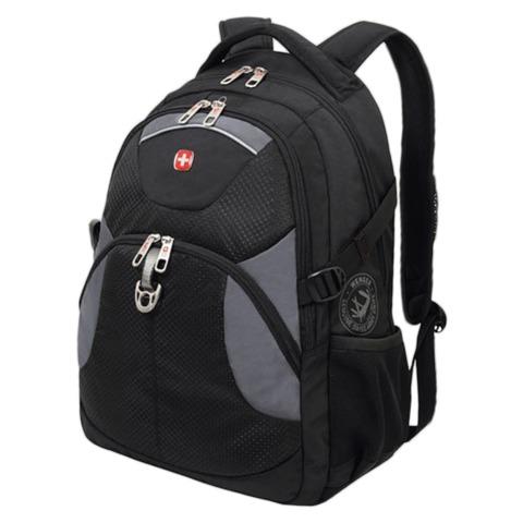 Рюкзак WENGER, универсальный, черный, 26 л, 34х17х47 см, 3259204410