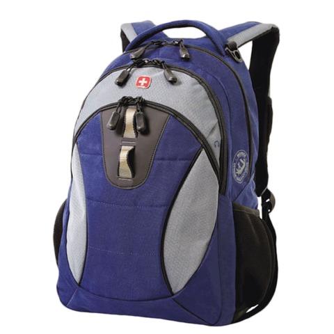 Рюкзак WENGER, универсальный, сине-серый, 22 л, 32х15х46 см, 16063415