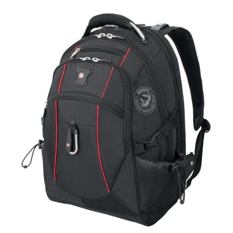Рюкзак WENGER, универсальный, черный, функция ScanSmart, 38 л, 34х23х48 см, 6677202408