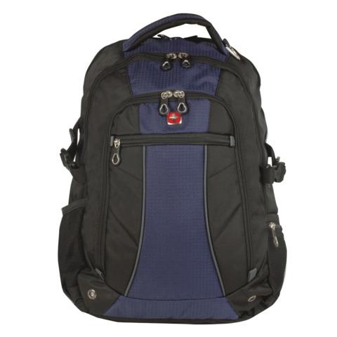 Рюкзак WENGER, универсальный, сине-черный, 32 л, 36х19х47 см, 3118302408