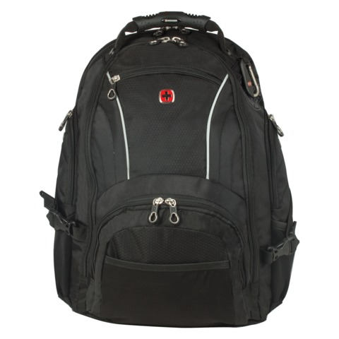 Рюкзак WENGER, универсальный, черный, 32 л, 36х19х47 см, 3181032000408
