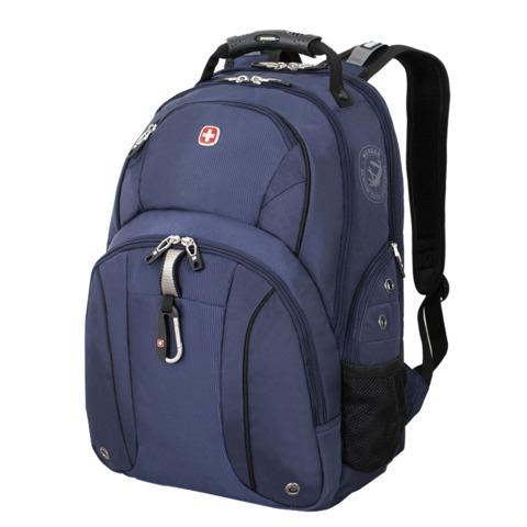 Рюкзак WENGER, универсальный, сине-черный, 26 л, 34х16х48 см, 3253303408