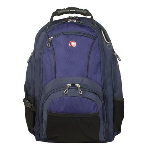 Рюкзак WENGER, универсальный, сине-черный, 29 л, 35х19х44 см, 3181303408