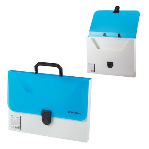 Портфель пластиковый BRAUBERG