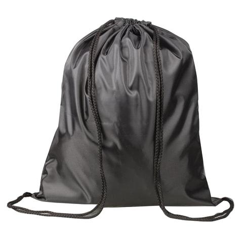 Сумка для обуви ТОП-СПИН для учеников начальной школы, черная, 43х35 см, 226547