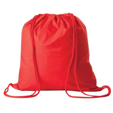 Сумка для обуви для учеников начальной школы, красная, 33х42 см, МО-1699