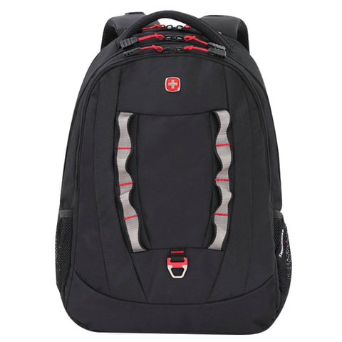 Рюкзак WENGER, универсальный, черный, 30 л, 47х34х18 см, 6920202416