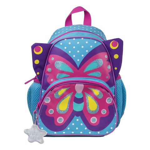 Рюкзак TIGER FAMILY (ТАЙГЕР) для дошкольников, голубой, девочка,