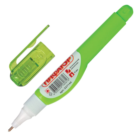 Ручка-корректор ПИФАГОР, 4 мл, металлический наконечник, 227144