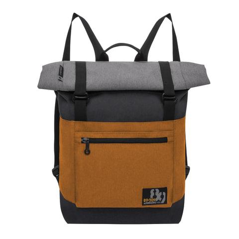 Рюкзак GRIZZLY для старших классов/студентов/молодежи, с клапаном, 15 литров, 42х29х11 см, RU-814-1/1