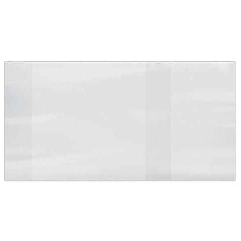 Обложка ПВХ для учебника ПИФАГОР, размер универсальный, прозрачная, плотная, 100 мкм, 233х450 мм, 227484