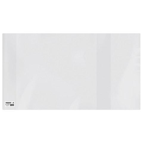 Обложка ПВХ для учебников Петерсон, Моро, Гейдман, Плешаков, ПИФАГОР, универсальная, прозрачная, 120 мкм, 270х490 мм, 227490