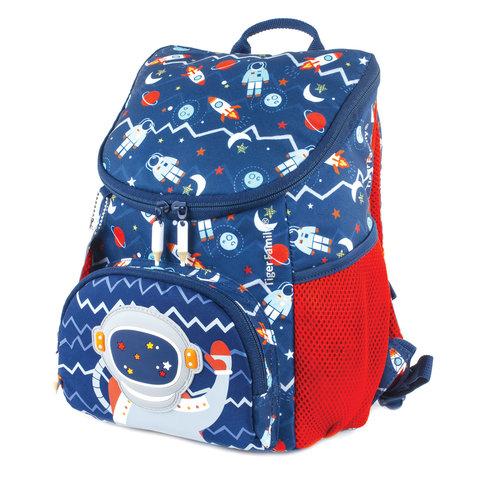 Рюкзак TIGER FAMILY (ТАЙГЕР), для дошкольников, синий, мальчик,