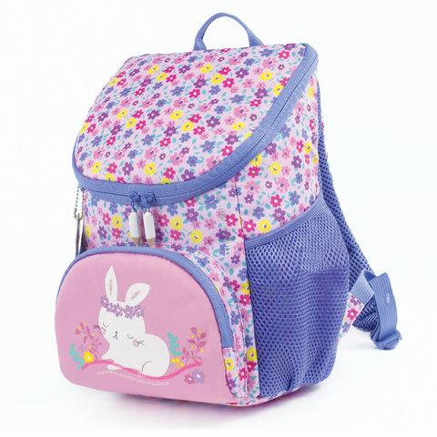 Рюкзак TIGER FAMILY (ТАЙГЕР), для дошкольников, розовый, девочка,