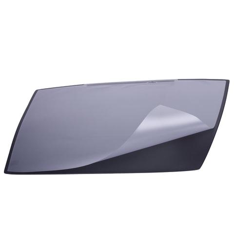 Коврик-подкладка настольный для письма DURABLE (Германия), c прозрачным листом, 65х52 см, черный, 7201-01