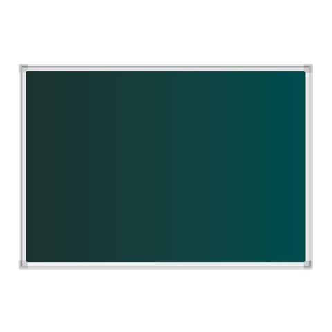 Доска для мела магнитная (100х150 см), зеленая, BOARDSYS, М-150