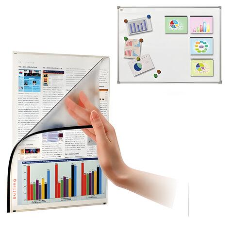 Магнитные папки-уголки BOARDSYS для досок, комплект 5 шт., формат А4, 220х300 мм, ФМ-А4