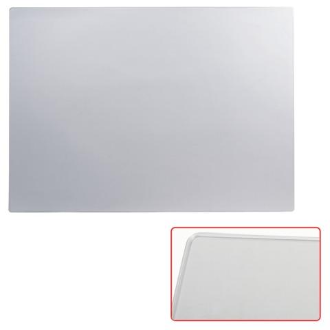 Коврик-подкладка настольный для письма, 655х475 мм, прозрачный матовый,