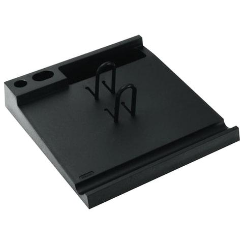 Подставка для календаря большая СТАММ, 204х220х40 мм, черная, ПК01